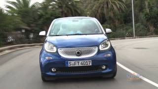 Test Drive: smart fortwo III and smart forfour III