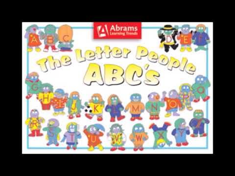 The Letter People 1996 All Songs Ms A Mr Z v1 - YouTube