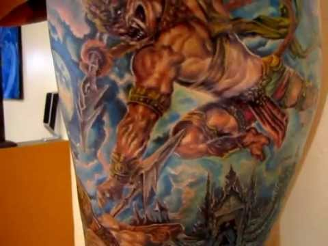 Milwaukee tattoo artist fwa xyooj hanuman rib side youtube for Tattoo removal milwaukee