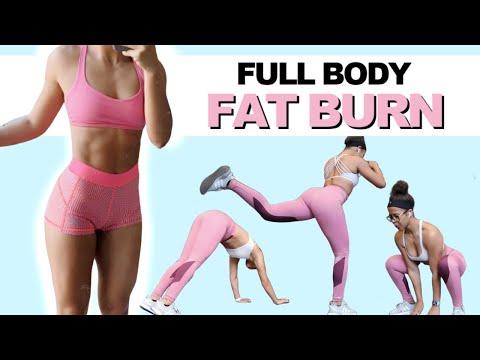 20 MIN FULL BODY HIIT FAT BURN (BURNS 500 Calories!!) | NO EQUIPMENT