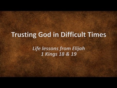 trusting life to god During the month of february we're going to begin a new series on trusting god in difficult times i want us to begin with trusting god in the changes of life.