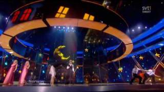 Eurovision Song Contest 2009 Final: 20 Norway
