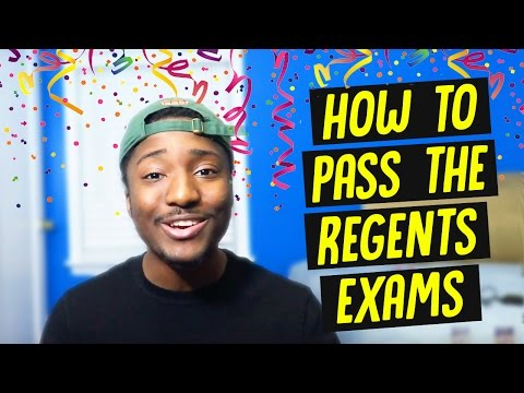 This is How I Made It! | How to Pass The Regents Exams (Tips)
