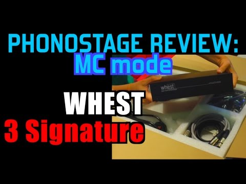 Whest 3 Signature phono: REVIEW :-)