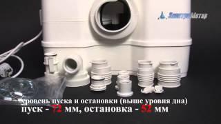 Канализационый насос grundfos SOLOLIFT2  WC 3(Компания Электромотор представляет канализационнуюустановку grundfos SOLOLIFT2 CWC 3 Вес, кг.: 7,1 Высота, мм: 368..., 2012-06-06T05:05:39.000Z)