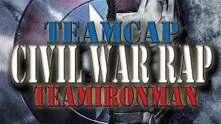 CIVIL WAR RAP | TeamCap Vs TeamIronMan | SrMecossT