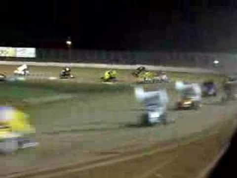 Eric Schrock at Lake Ozark Speedway 8/25/07