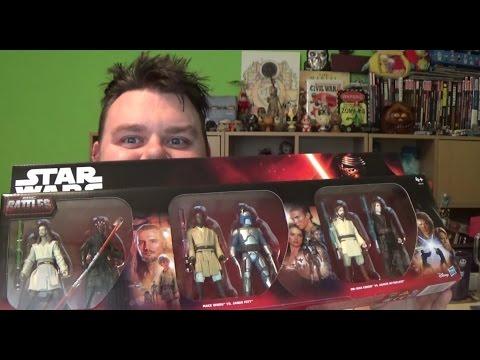 Star Wars Epic Battles 6 Figure Battle Pack 3.75'' Action Figures Toys R Us Exclusive