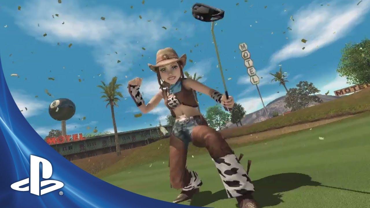 Hot Shots Golf World Invitational Ps3 Announce Trailer Youtube