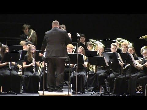 Apex High School Wind Ensemble Performs Esprit De Corps On 3/27/2019