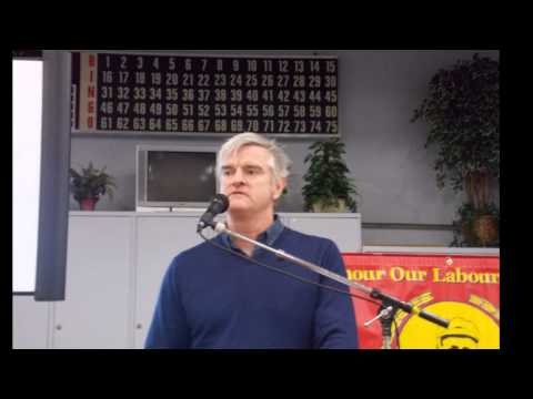 Mitch Anderson Talk; Why Can't The Second Richest Country In The World Afford Postal Delivery?