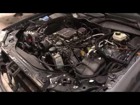 Капитальный ремонт двигателя Мерседес 211 М272