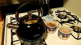 Whistling Tea Kettle $39.99 | Review