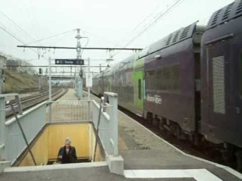 gare de chasse sur rhone 02 2011 youtube. Black Bedroom Furniture Sets. Home Design Ideas