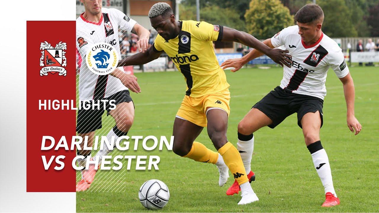 Download Darlington 0-0 Chester - FA Cup - 2021/22