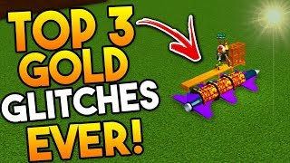 TOP 3 GOLD/MONEY *GLITCHES*💰 in Build a boat ROBLOX