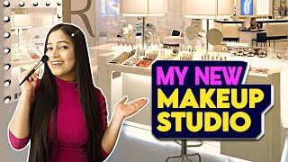 MY NEW (RENOVATED)*  MAKEUP ROOM TOUR💅Makeup Collection Storage & How I Organize it |Be Natural