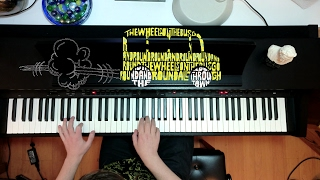 The Wheels on the Bus - American Folk Song - Piano Version