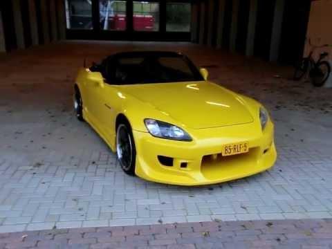 JDM Honda S2000 Yellow