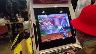 [EVO Japan 2019] World Heroes 2 Tournament - fight 12 - semi finale 1