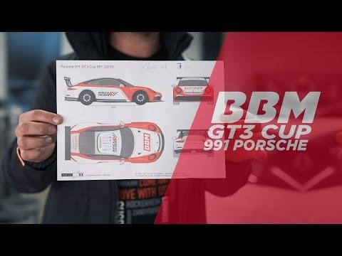 100% Rennwagen! | Porsche GT3 Cup Folierung by BBM