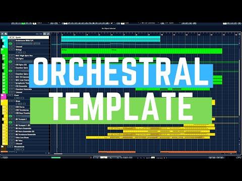 Cubase 10.5 Tutorial: Create an ORCHESTRAL/TRAILER TEMPLATE