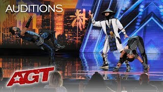 Download WOW! EPIC Dance Crew Delivers Mortal Kombat x Street Fighter Show - America's Got Talent 2019