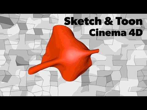 Cinema 4D Tutorial - Sketch and Toon Animation thumbnail