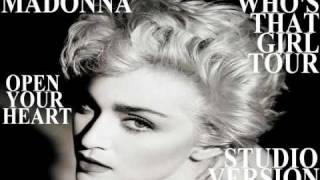 Madonna - Open Your Heart (The Who