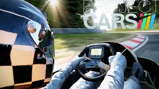 Project Cars - 250CC Go Kart Nurburgring (PC Max Settings 60fps)