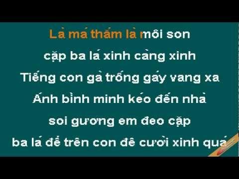 Cap Ba La Karaoke - Ngọc Khuê - CaoCuongPro