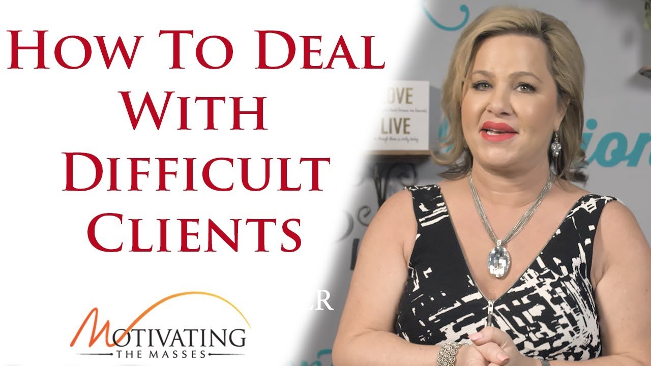 Susie Carder - How To Deal With Difficult Clients