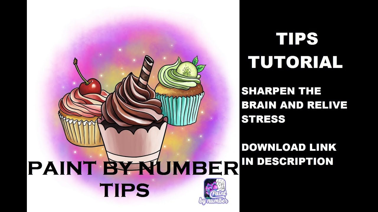 Paint By Number - Free Coloring Book & Puzzle Game - Cake ...