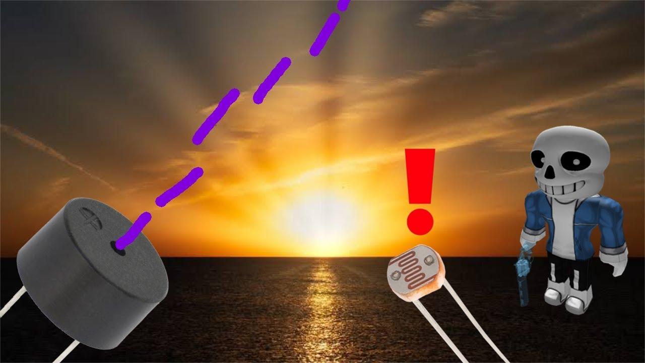 Um despertador que toca Megalovania no nascer do Sol