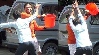 holi prank in india