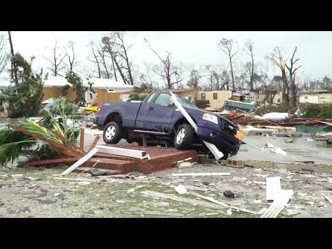 Hurricane Michael  Slams Mexico Beach, FL - 10/10/2018