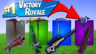 PICKAXE CHALLANGE on NORWEGIAN | NORWEGIAN FORTNITE