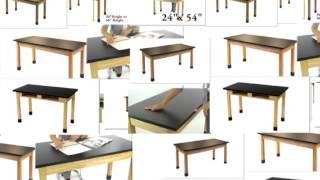 Series #PSLT Phenolic Science Tables