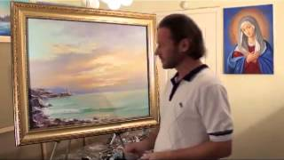 Игорь Сахаров  Живопись, видеоуроки Art Lesson Painting