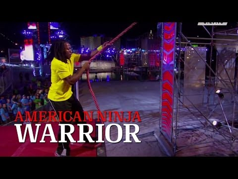 Idoko Abuh at 2013 National Finals Stage 1 | American Ninja Warrior