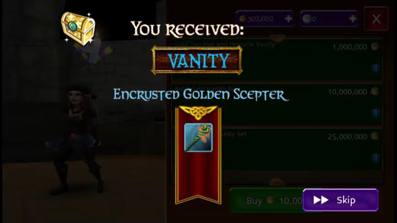 Arcane Legend Sir spendalot Part 1 (looted encrusted ...