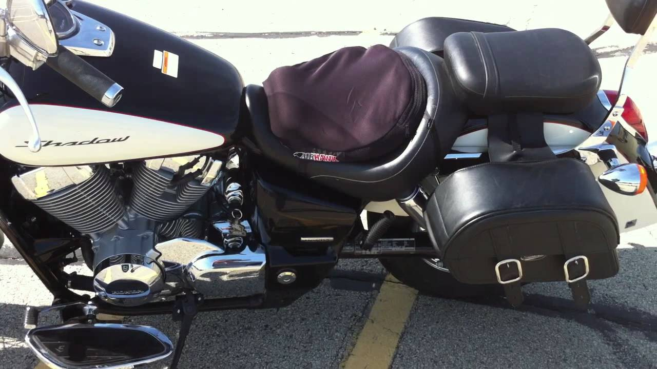 2008 honda shadow aero 750 youtube. Black Bedroom Furniture Sets. Home Design Ideas