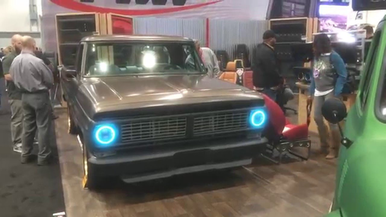 Color Changing F100 Led Headlights Sema Tmi Products