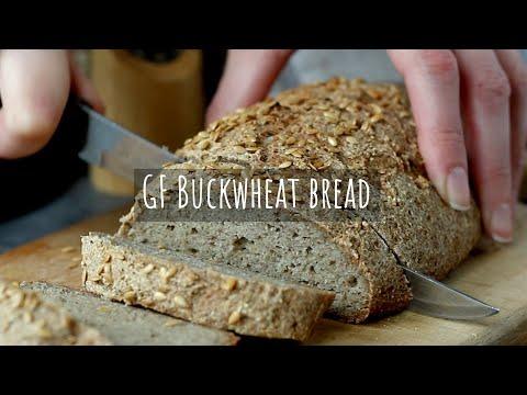 Eng Rus Sub | Buckwheat Bread | Gluten Free | Yeast Free