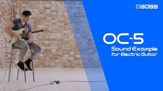 BOSS OC-5 Octave - Sound Example for Electric Guitar