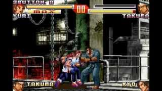 King of Fighters EX 2 - Howling Blood all characters MAX and others