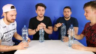 BOTTLE FLIP CHALLENGE Z PIRAANIĄ ! |LUKA