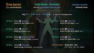 TR25 Community Level Editor Stream - Squidshire plays 'Shadow of Vesuvius' by Trix