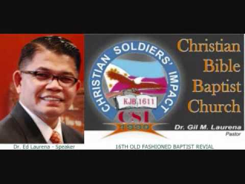 Reason to Stay in the Local Church   Dr  Ed Laurena 16th OFBR