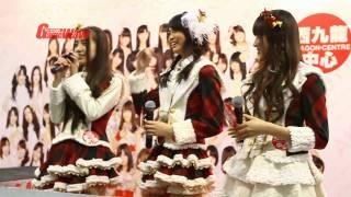 AKB48 前田亞美、入山杏奈、加藤玲奈出席西九龍中心握手會出席成員: AKB...